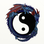 Dragon designed for Durham Qigong