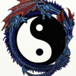 Dragon designed for Durham Qigong