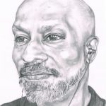 Pencil Portrait of Akram Khan
