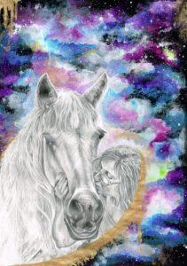 Katie Portrait - Gloria's Horse Web